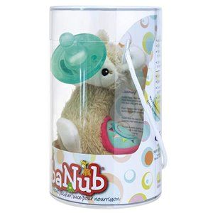 Lily Llama Soft Toy and Infant Pacifier